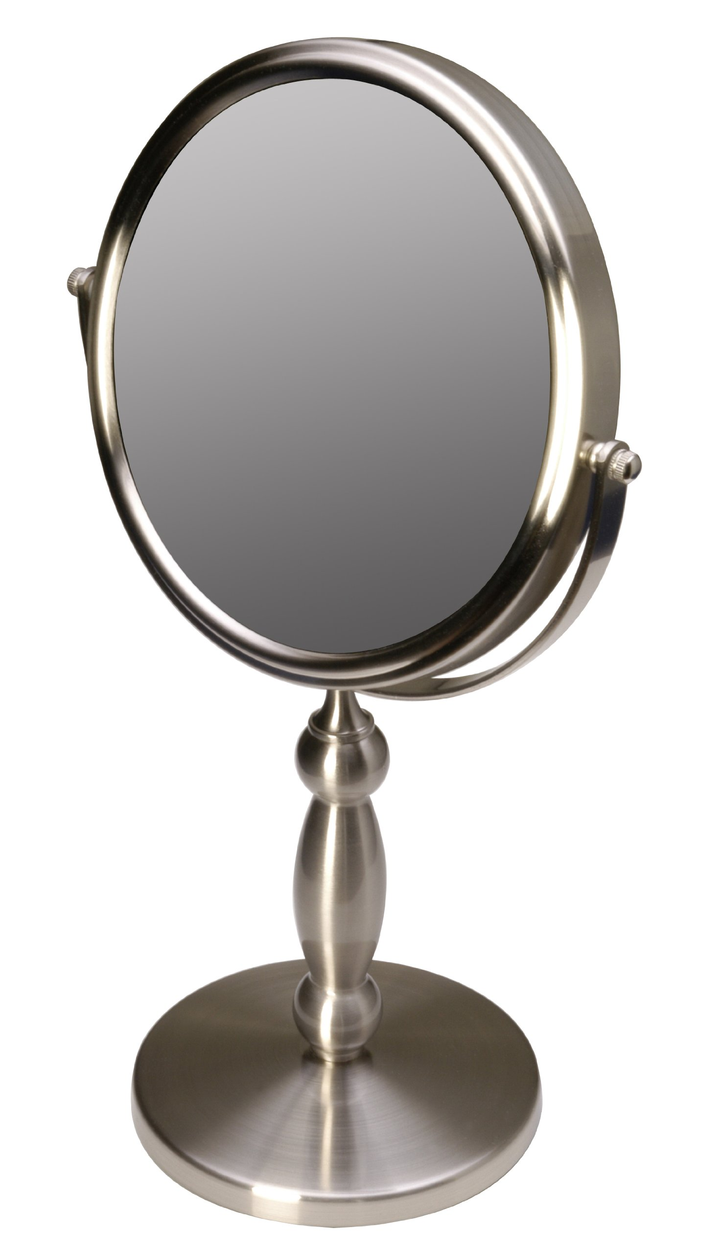 Floxite Fl-15v 15 Extra Strong 15x/1x Supervision Vanity Mirror, Brushed Nickel by Floxite
