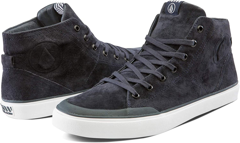 Volcom Men s Fi Hi Top Canvas Fashion Shoe Skate