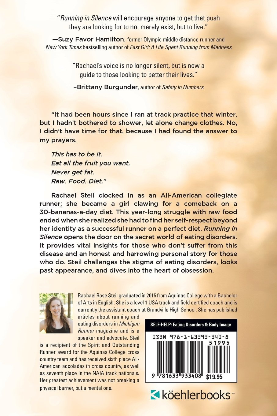 Running in Silence: My Drive for Perfection and the Eating Disorder That  Fed It: Rachael Rose Steil: 9781633933408: Amazon.com: Books