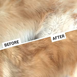 GoPets Dematting Comb with 2 Sided Professional Grooming Rake for Cats & Dogs