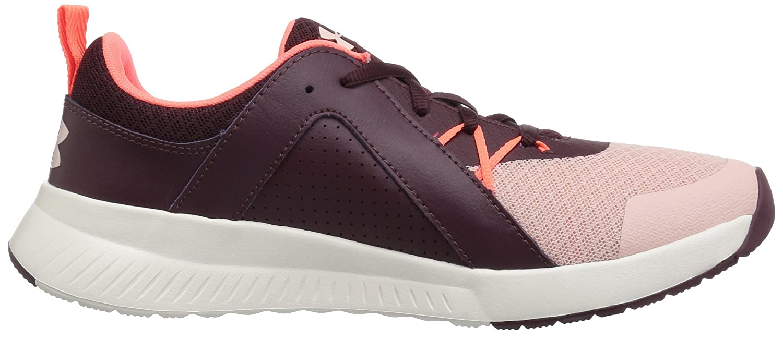 Under Armour Women's Intent Trainer Sneaker B07744W83T 9.5 M US|Flushed Pink (601)/Dark Maroon