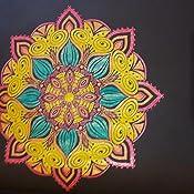 Mandala Malbuch für Erwachsene: Mandalas auf schwarzem