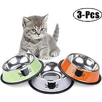 Mumoo Bear Stainless Steel Cat Bowl Pet Bowl