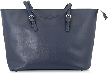 StilGut® Shopper, sac à main en cuir italien