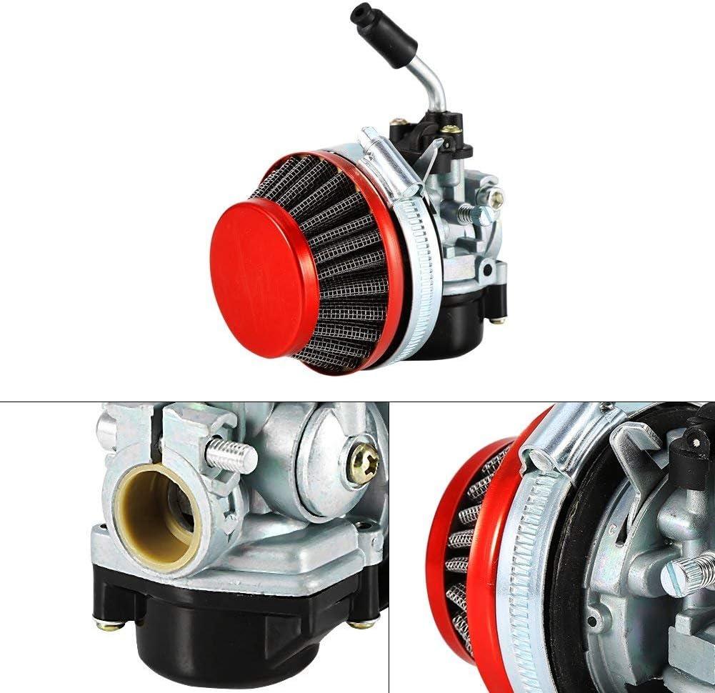 ETbotu Moto Racing Carburateur Filtre /à air 49/Cc-80cc 2/Temps V/élo motoris/é V/élo Moto kit