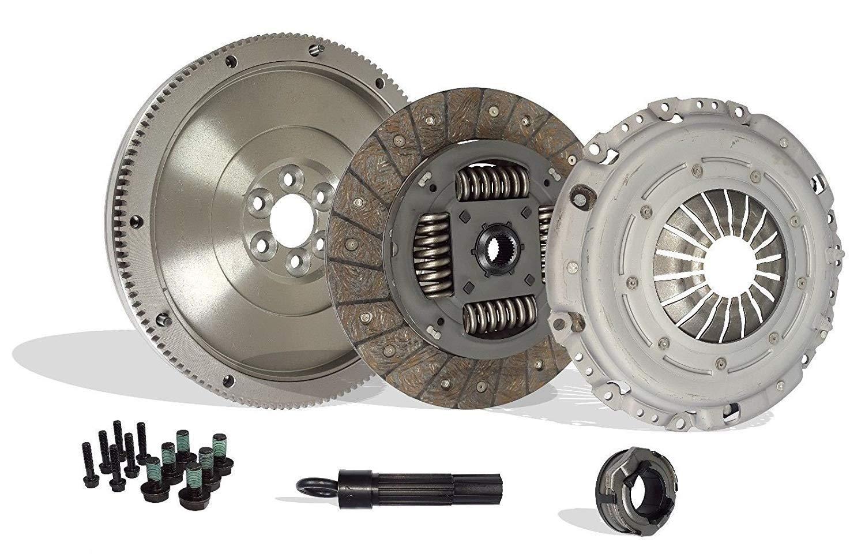 Clutch And Flywheel Conversion Kit Works With Vw Beetle Jetta Rabbit TDI 2.5 Wolfsburg Value Edition Gl Gls S Se Sport Hot Wheels 2005-2010