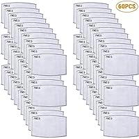 Bonbela 60 PCS Anti PM2.5 N95 carbón Activado