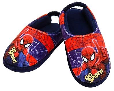 4996a5080 Joah Store Marvel Spider Man Go Spidey Boys Warm Fur Lined Comfort Indoor  Slipper Shoes Runs