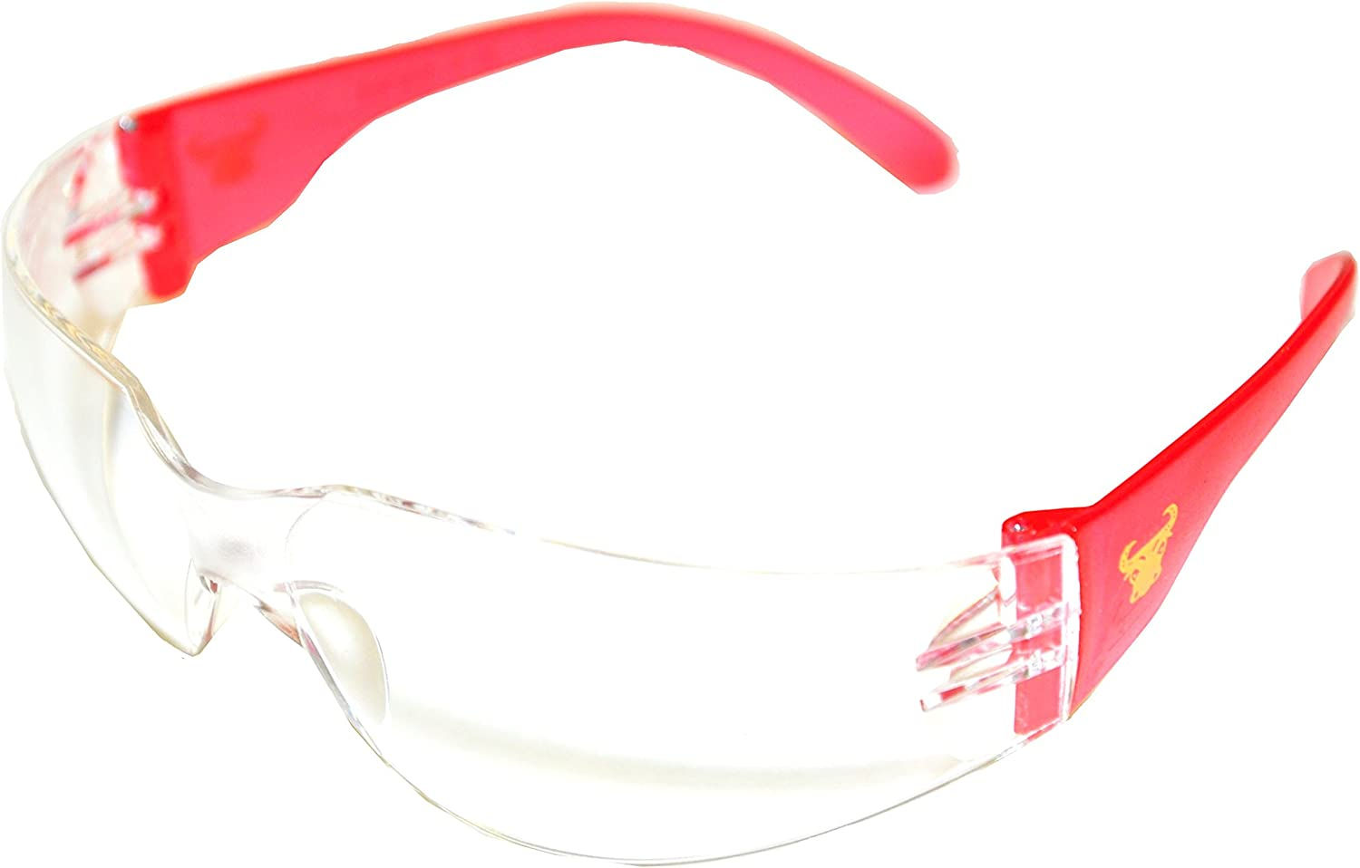 G & F 13016-6 EyePRO Scratch, Impact & Ballistic Resistant Safety Goggles with Clear Lens (6 Pack)