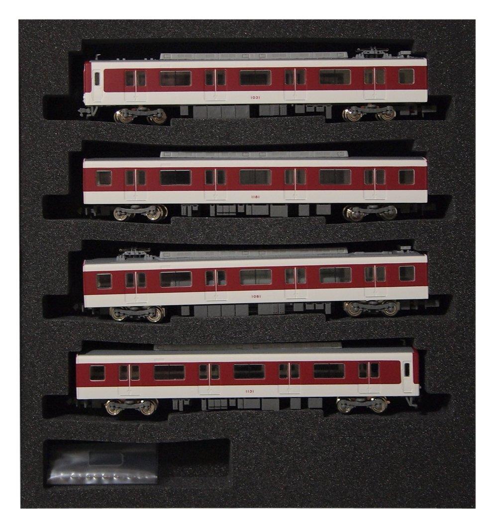 Kintetsu Series 1026 Kyoto/Nara Line Line Line Standard Four-Car Formation Set (w/Motor) (Model Train) 1c6bae
