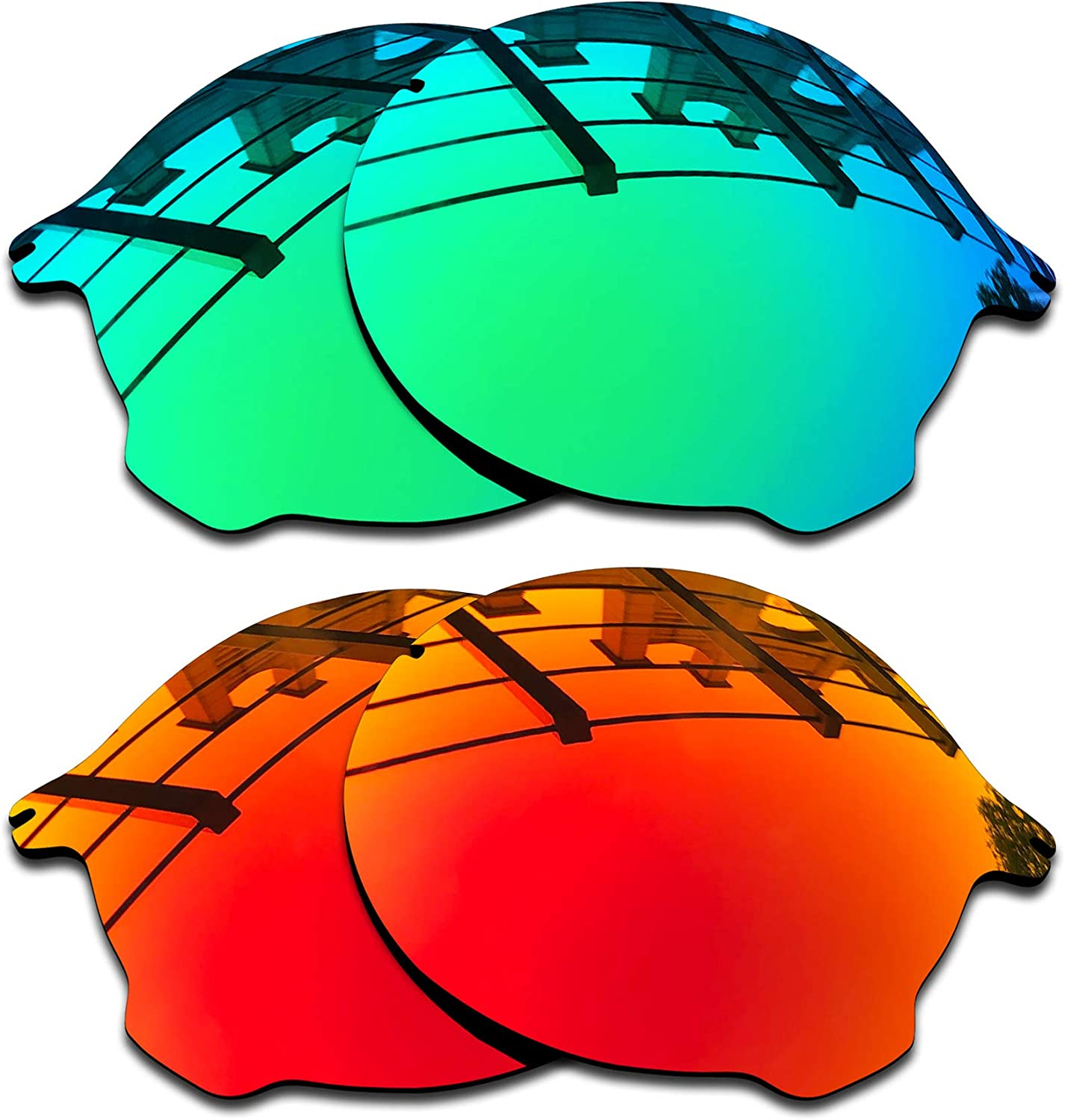 SEEABLE Premium Polarized Mirror Replacement Lenses for Oakley Tailend OO4088 Sunglasses