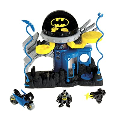 Fisher-Price Imaginext Super Friends Bat Command Center: Toys & Games
