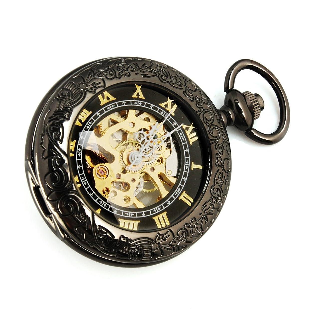 実施するキネマティクススリップ【クロノシア】懐中時計 小型 キーホルダー アンティーク レディース ポケットウォッチ