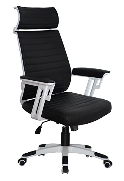 Astonishing Amazon Com Executive Contemporary Office Chair Back Support Interior Design Ideas Gentotryabchikinfo
