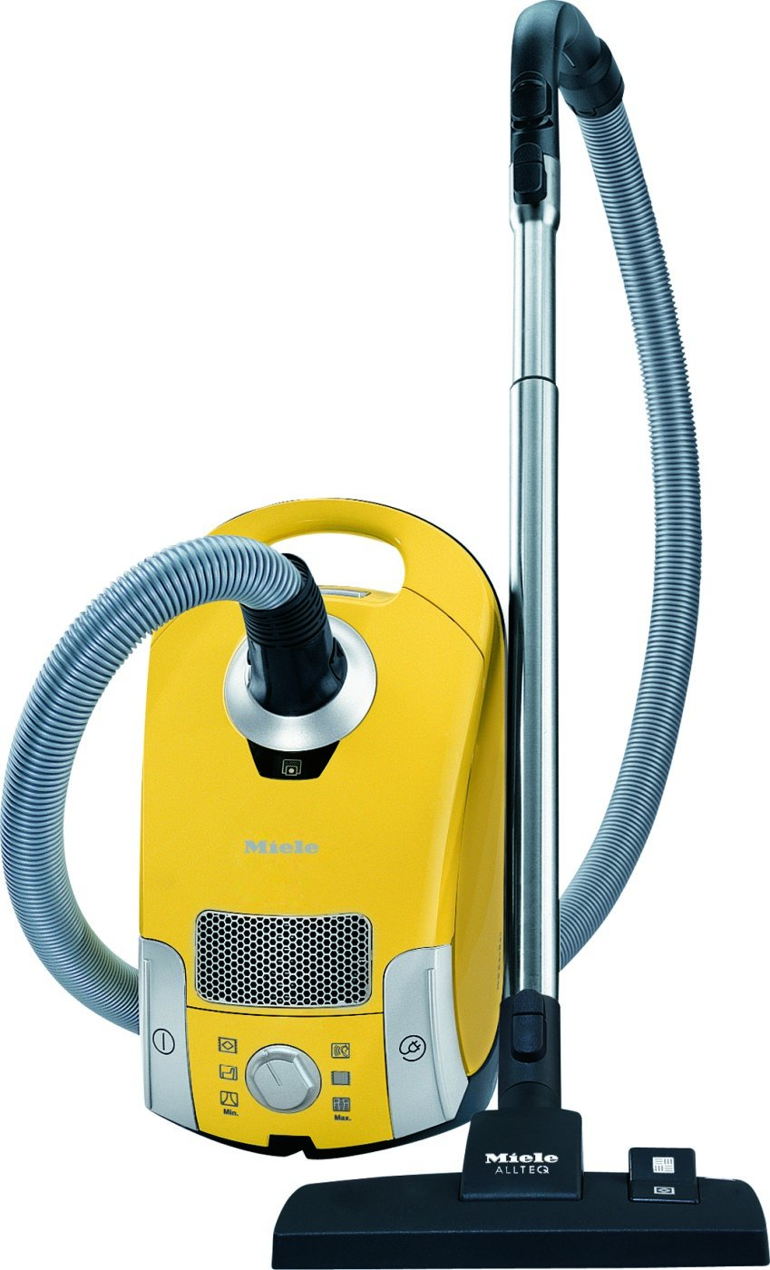 $299 Miele C1 Celebration Vacuum, Compact, Canary Yellow
