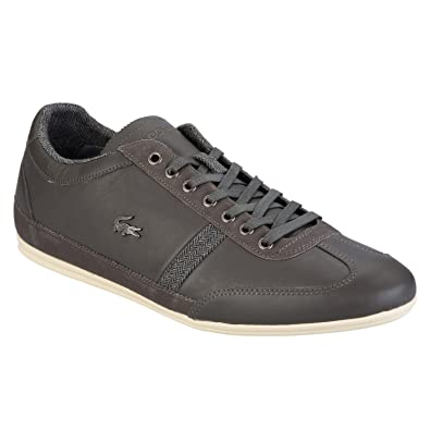 1417456841b8f6 Lacoste Mens Mens Misano 25 Trainers in Grey - UK 7  Amazon.co.uk ...