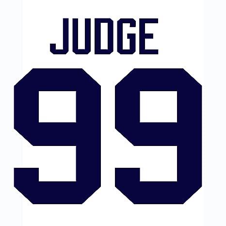 9f8e8b3e6 Aaron Judge New York Yankees Jersey Number Kit
