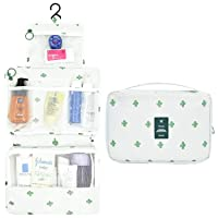 AIDIAN Travel Makeup Bag Large Cosmetic Organizer for All Toiletries, Shampoo, Full...