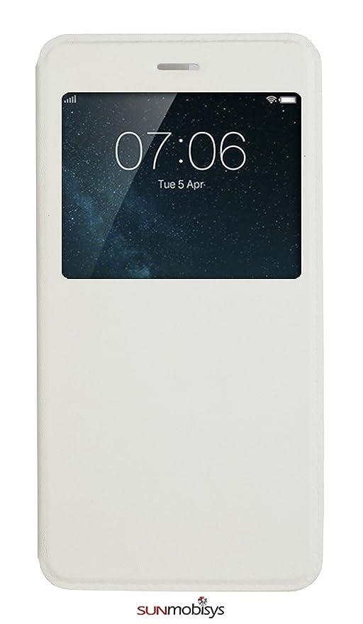 online store 329ce 7c879 Sun Mobisy® Flip Cover for Vivo V3 White