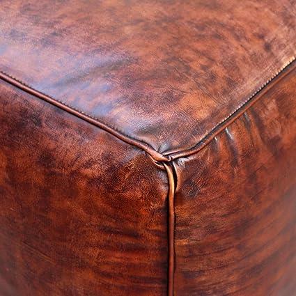 Excelente Cuero Barato Muebles Otomana Friso - Muebles Para Ideas de ...
