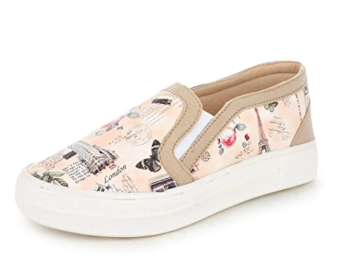 109dbffc6b6 TRASE Comfy Off- White Loafer Shoes for Women Ladies  Buy Online at Low  Prices in India - Amazon.in