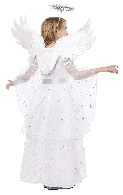 Girls Starlight Starlight Girls Angel Fancy Dress Costume X Small