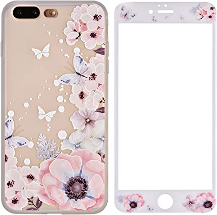 cover con fiori iphone 7