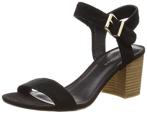 New Look Paze, Zapatos con Tacon y Correa de Tobillo para Mujer: Amazon.es: Zapatos y complementos