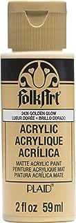 product image for FolkArt Paint, Golden Glow 2 Fl Oz