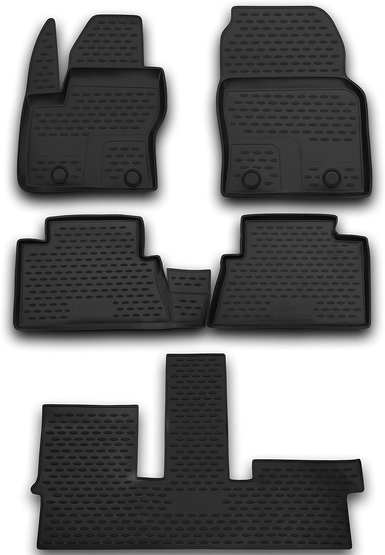 AD Tuning TMP15015 Passform Kofferraumwanne schwarz Anti-Rutsch Oberfl/äche