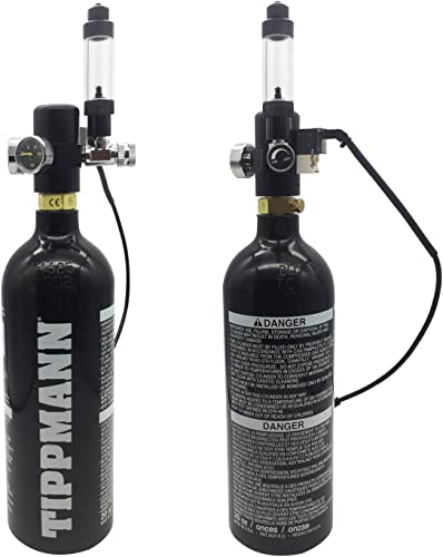 Designed to fit paintball CO2 tanks