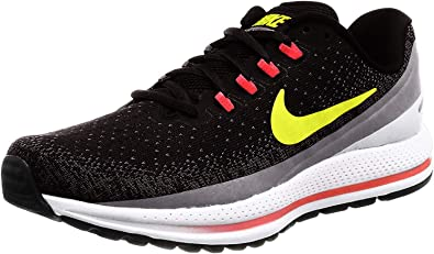 Nike Air Zoom Vomero 13, Zapatillas de Deporte para Hombre, Multicolor (Black/Volt/Gunsmoke/Bright Crimson 070), 44 EU: Amazon.es: Zapatos y complementos