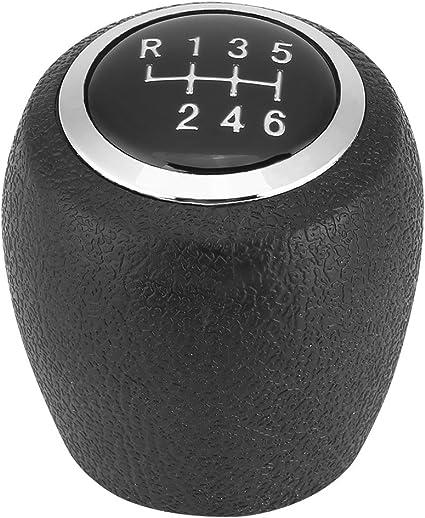 6 velocidades Cabezal de la palanca de cambios del autom/óvil Pomo de la palanca de cambios