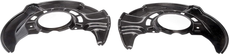 1 pair Dorman 947-008 Brake Dust Shield for Select Toyota Corolla//Matrix Models