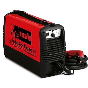 Telwin TE-815088 - Equipo de Soldadura TECHNOLOGY PLASMA 54 KOMPRESSOR 230V