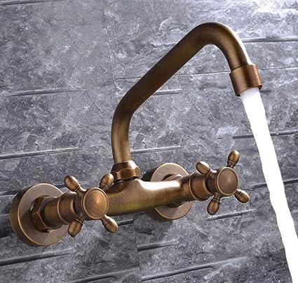 Rubinetto Muro Per Cucina.Bathroom Faucet Miscelatore Rubinetto Del Bagno Black Antico