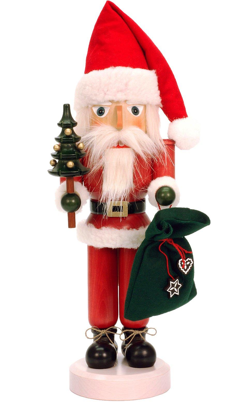 32-540 - Christian Ulbricht Nutcracker - Santa - 16.5''''H x 5.5''''W x 5.5''''D by Alexander Taron Importer