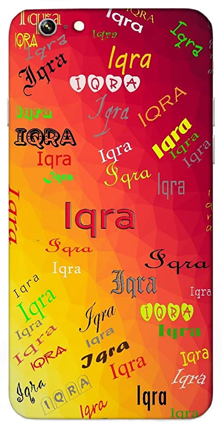 Iqra Popular Girl Name Sign Printed All Over Customize Personalized