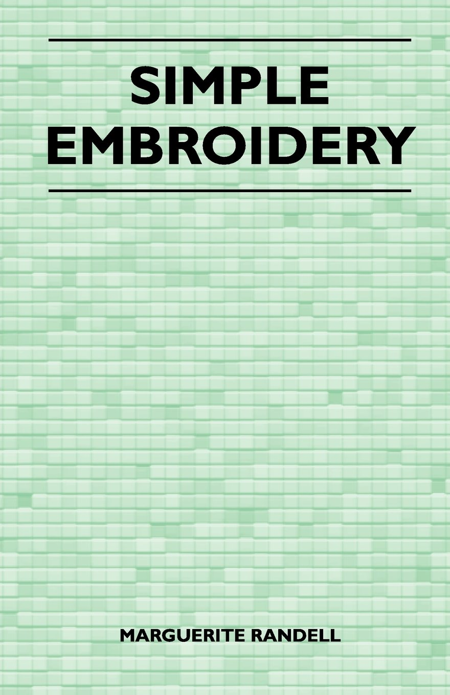 Simple Embroidery pdf
