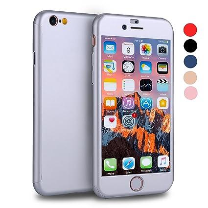 Amazon.com: VANSIN 360 - Carcasa protectora para iPhone 6S ...