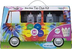 Tulip One-Step Tie-Dye Kit Tulip One-Step Road Trip Bus Kit Rainbow Tie Dye