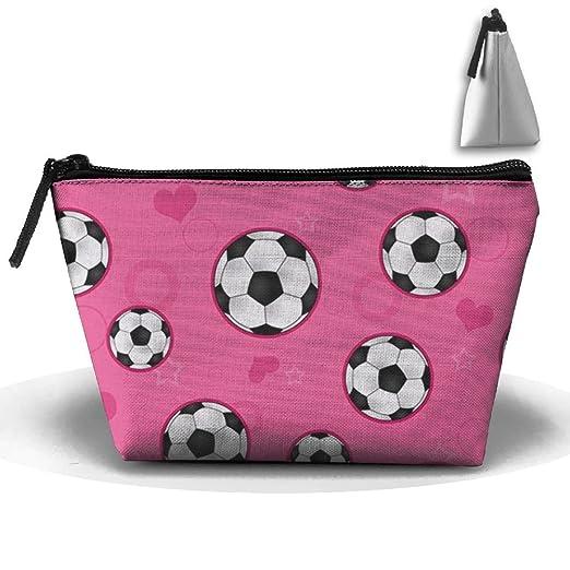 Diseño de balón de fútbol impresión bolsa de cosméticos ...