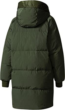 adidas Damen Jacken   Winterjacke Long Bomber grün 38  Amazon.de ... 45af8a381d