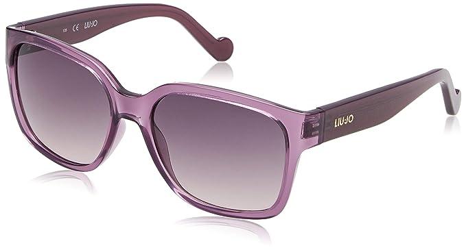 Liu Jo LJ626S 513 55 Gafas de Sol, Purple, Mujer: Amazon.es ...