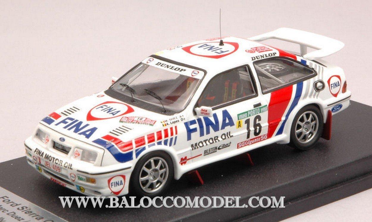 Trofeu TFRRAL09 Ford Sierra Cosworth N.16 8th Portugal 1990 DUEZ-Lopes 1:43