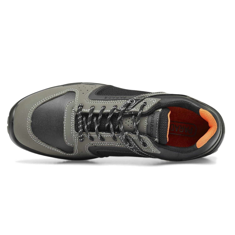 Parade - Zapatos de seguridad Holia 3804 - Hombre - Negro / Gris - 43 VXnvzOpYm