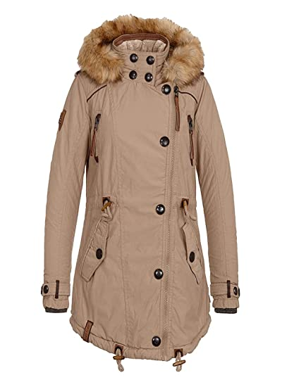 Naketano Winterjacke Regular Fit gefüttert Blau Jacken