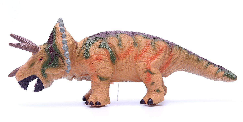 Jumbo Squeezable Carnotaurus Anleolife 12 Realistic Soft Dinosaur Action Figure Toy for Kids