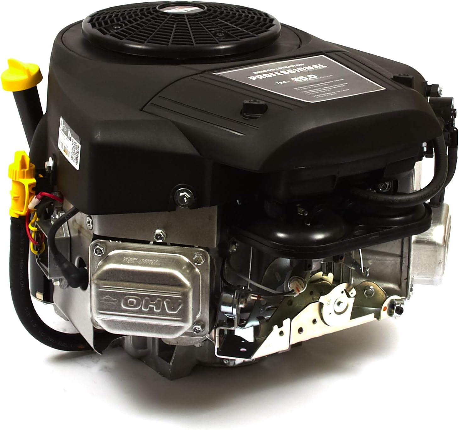 Briggs and Stratton 44S977-0032-G1 25 GHP Vertical Shaft Engine, Black