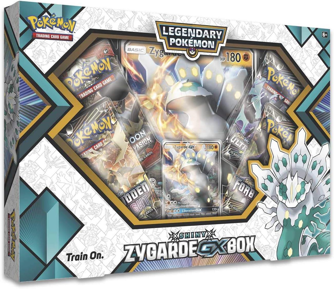 Pokemon TCG Shiny Zygarde GX Box: Amazon.es: Juguetes y juegos